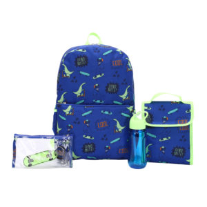 Wonder Nation Wilderness 5 Piece Backpack Set