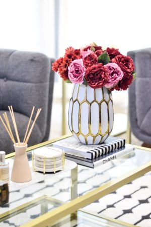 Styling and Decorating using Artificial Flowers.