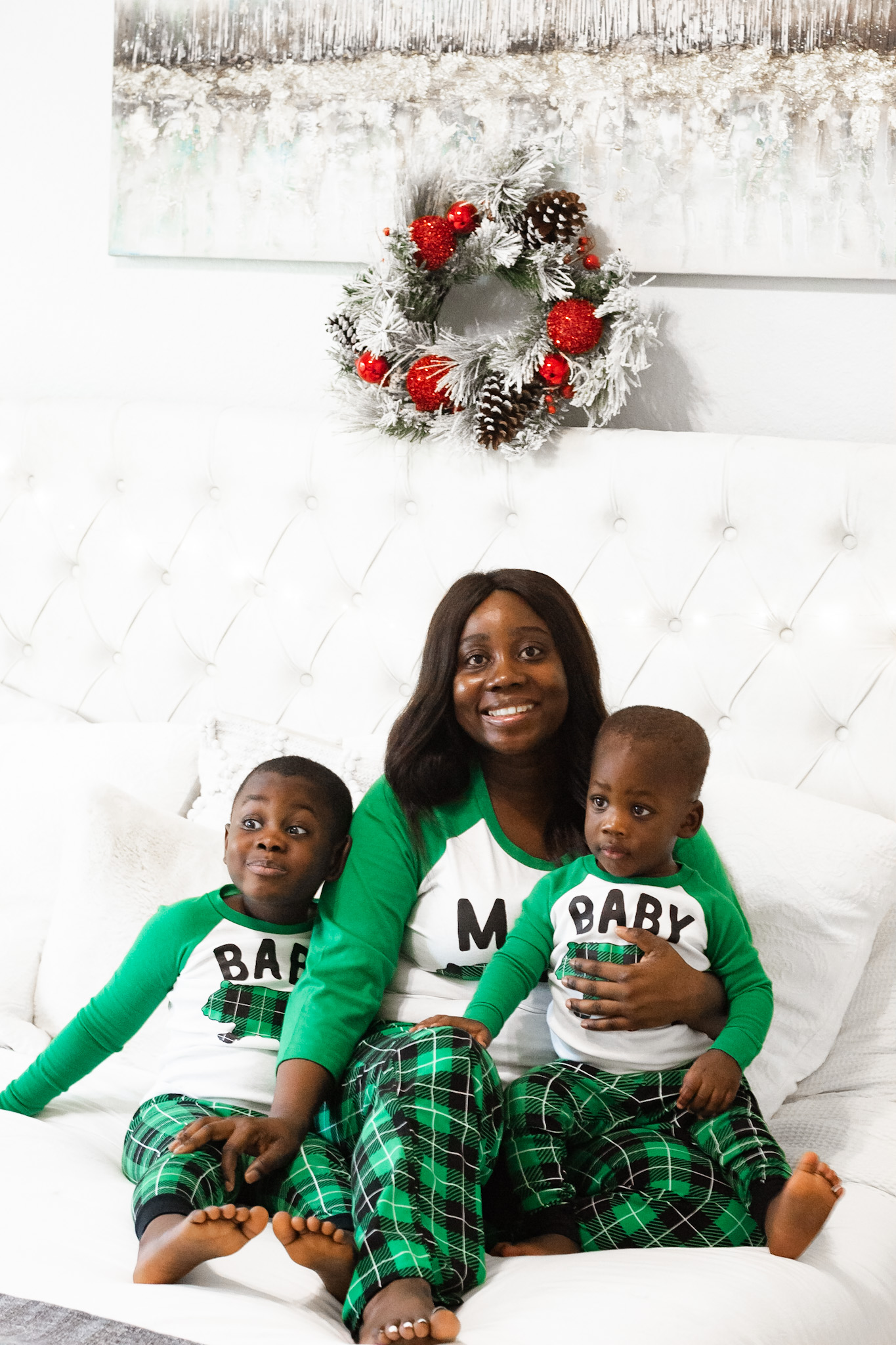 Holiday pajamas for you and the family