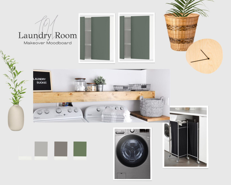 Laundry room refresh design