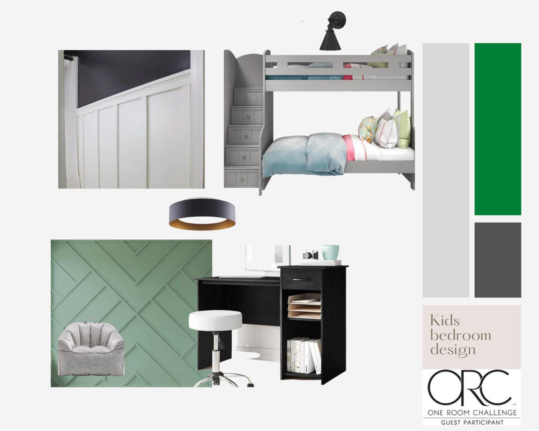 Kids Bedroom : Spring 2021 One room challenge