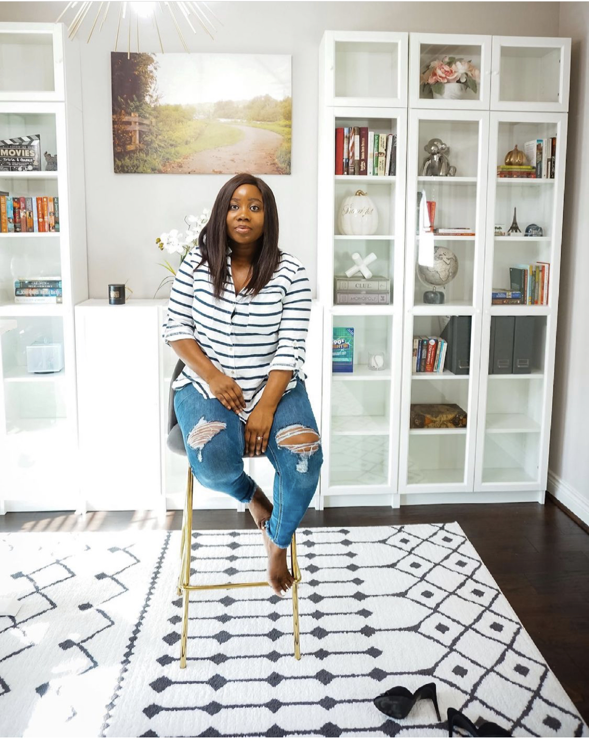 Home Office Built-ins Using the Ikea